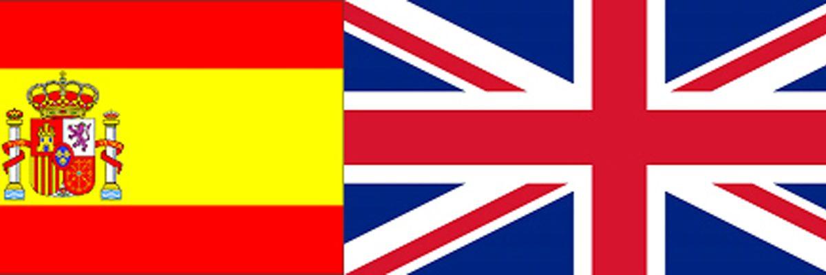 bandiera spagnola e inglese 400